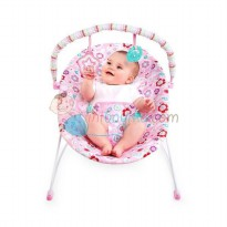 Bright Starts Pretty In Pink Bouquet Surprise Vibrating Bouncer Color Pink Age 0M+