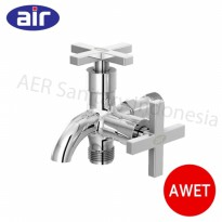DIskon AIR  Bundling Kran Double D 9G Z + Hand Shower  AIR HS2 1C Premium