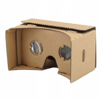 Cardboard VR Virtual Reality for Smartphones 5inch