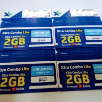 Perdana Internet XL 2GB