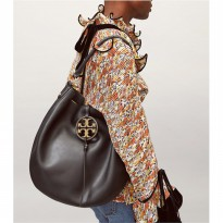 Authentic TB Miller Metal Slouchy Hobo Bag