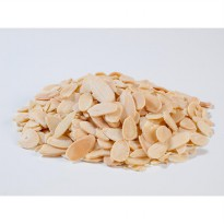 Natural Roasted Almond Sliced ( Panggang ) - 100 Gr
