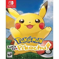 Lets Go Pikachu Nintendo Switch Game