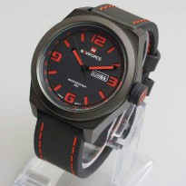 [Jam Tangan] Naviforce Pria Original NF9059/Black Red