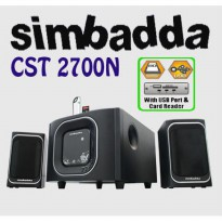 Order yuk Simbadda Speaker CST 2700N (with USB Port and Remote Control) Fk3940