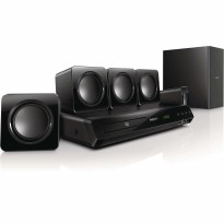 home Theatre philips HTD3509 300W Powerful Surround Sound Full HD 5.1 super promo