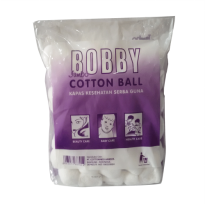 Bobby Cotton Ball Jumbo 100 Gram - Kapas Bulat