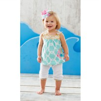 Mudpie Fish Tunic And Leggings #351308