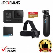 GoPro HERO 8 Black Holiday Bundle GARANSI RESMI