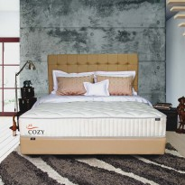Zees Kasur Springbed Tipe Cozy Spring Bed off white 200 x 200 cm - Mattress Only