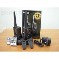 [Bukan HT] Uniden Walkie Talkie GMR2900 Walky Talky HT - Up To 29 KM - 2 pcs - black