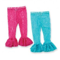 Mudpie Hot Pink/Aqua Lc Leggings #176427