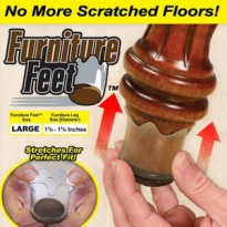 TERMURAH! Furniture Feet As Seen On TV 8Pcs Bantalan Kaki Sofa