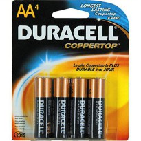 [holiczone] Duracell Batteries / 4 AA - size batteries/321079