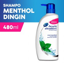 Head & Shoulder Sampo Cool Menthol 480 ml