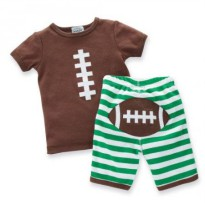 Mudpie Football 2pc Set #178480