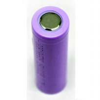 Hame Lithium Ion Cylindrical Battery 3.7V Flat Top - HM-18650 Baterai