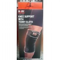 BODY SCULPTURE Knee Support with Terry Cloth
