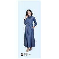 Long dress/atasan wanitaAzzura 578-08 ABU