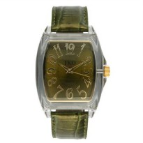 [poledit] TKO ORLOGI Women`s TK534-GR Position Primavera Plastic Case and Leather Strap Wa/4139968