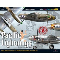 Kagero Pacific Lightnings. Part 1 decal model kit