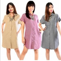 KFashion Tunik Trendy Tangan Pendek Arumi