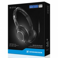 Limited Sennheiser HD231G On-Ear Headphones with Inline Microphone & Remote fo Fk4101