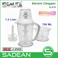 Chopper Electric IDEALIFE IL-219 Penggiling Daging Elektrik
