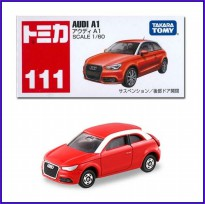 Tomica 111 Audi A1 Red - Diecast Mobil