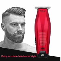 Alat Cukur Rambut Kemei Hair Clipper Trimmer Detailer KM