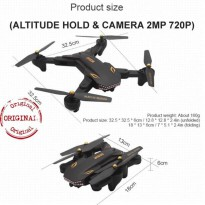 Drone VISUO XS Battle SHARK WIFI 2MP Camera black