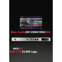 Bless Audio - Nakamichi Nkx 35 hdd 1 tera 23.0000 lagu Player karaoke