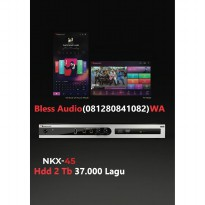 Bless Audio - Nakamichi NKX 45 + Hdd 2 Tb(37.000 Lagu) Player Karaoke