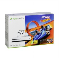 Microsoft Xbox One S Forza Horison 3 Hot Wheels Bundle with Game Steep n The Crew Game Console