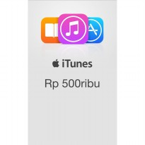 iTunes Gift Card (IGC) Indonesia 500rb **Kode Only**