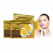 (10pcs) Crystal Collagen Gold Powder Eye Patch / Masker Mata Kolagen