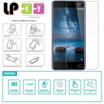 LP HD Tempered Glass Nokia 8