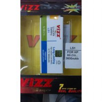 Baterai Double Power Vizz - Bb Z10 - Ls1