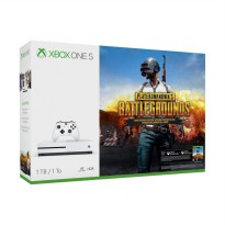 Microsoft Xbox One S Playerunknown's Battlegrounds/ PUBG DVD Game Bundle Game Console [1 TB]