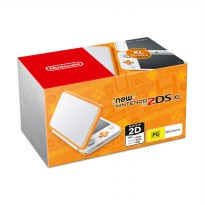 Nintendo 2DS XL Game Console - Orange [32GB/Full Games]