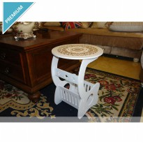 Small Round Coffee Table / Meja Ngopi Bulat