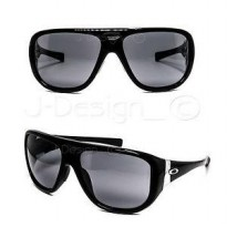 original oakley correspondent polished black stem grey
