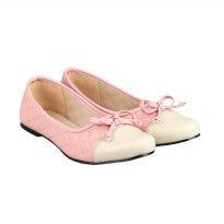 GIA Coco Flat Shoes - Beige Pink