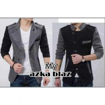Azka Blazer Black & Grey