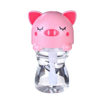 USB Mini Portable LED Cartoon Bottle Caps Humudifier 280ml