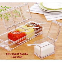 Crystal Seasoning Box Tempat Bumbu Cristal