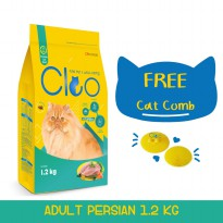 Cleo Persian Cat Food [1.2 kg] dan Cat Comb Cleo (All Life Stages)