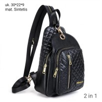 Tas Backpack/Waist bag Wanita LP 911