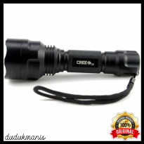 Senter LED Flashlight Waterproof Cree Q5 3800 Lumens OLA-241
