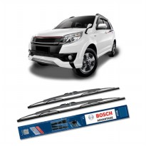 Bosch Sepasang Wiper Kaca Mobil Toyota Rush (2006-on) Advantage 21' & 18' - 2 Buah/Set